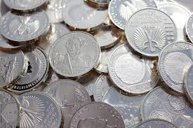 free photo silver coins coin finance metal free image on