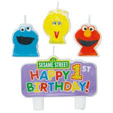 sesame candle birthday ideas sesame streets