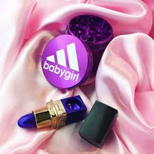 Coffee Grinder Marijuana Purple Weed Grinder And Lipstick Pipe From Shopstaywild Com