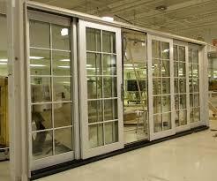 Oak Patio Doors Synergy Windows And Doors Bi Parting Patio Door
