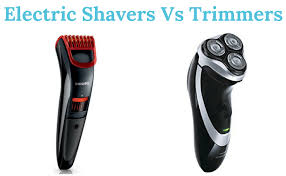 electric shaver is better than a razor for in grown hair electric shaver vs trimmers what is the difference trimmers
