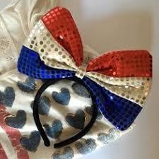 white and blue headband leather headband flower headband white by vividbloom