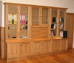 furniture oak wall unit bookshelves with glass doors fabulous
