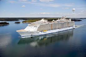 Largest Cruise Ship The Largest Cruise Ship In The World Is Five Times The Size Of The