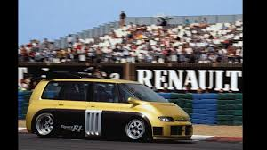 renault f1 concept concept we forgot 1994 renault espace f1