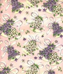 floral gift wrapping paper wedding wrapping paper bells floral by sandycreekcollectables on