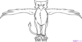 8 images of griffin creature coloring pages griffin mythical