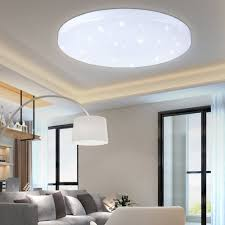 Wohnzimmer Deckenbeleuchtung Modern Sailun 18w Kaltweiß Ultraslim Led Deckenleuchte Modern Deckenlampe