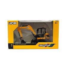 britains 1 32 jcb replica midi excavator collectable farm toy