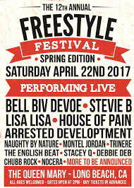 tickets to 12th annual freestyle festival 2017 the queen mary in