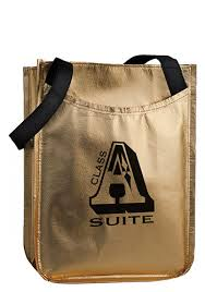 metallic gift bags promotional laminated metallic gift bags 148285