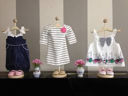 Hangers For Baby Clothes Use Stands To Display Baby Clothes For Cute Decorations Showers
