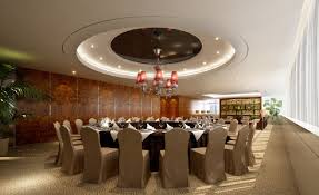 large round dining table interior design of restaurant room with large round dining table