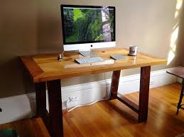 Computer Desk Houston Furniture Wooden Office Desk In The Modern Home Design Woodure