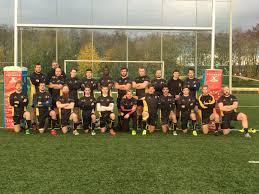 Vfl Bad Ems Rugby Club Aachen Aachen überwintert Auf Dem Zweiten Platz