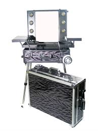 Professional Makeup Artist Supplies Product Spotlight U2013 Stilazzi Portable Makeup Station Stilazzi