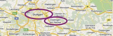 Merkelsches Bad Esslingen Schöner Wohnen In Esslingen Ferienwohnung Beim Schillerpark Lage