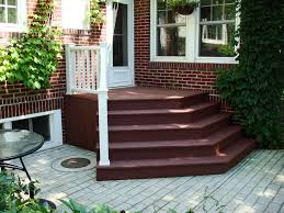 new lenox composite deck stairs halo construction services llc
