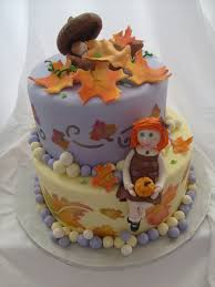 Pumpkin Baby Shower Ideas - this cake is for a fall baby shower pink pumpkin baby shower on