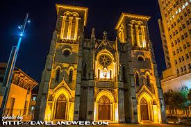 san fernando cathedral light show davelandblog san antonio the saga