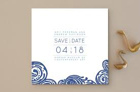 save the date post cards contemporary chic save the date cards by guess what design studio