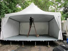 renting a tent staging blue peak tents inc