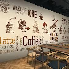 wallpaper coffee design custom stereo 3d photo wallpaper coffee shop restaurant tea cafe