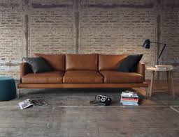 Modern Leather Sofa Modern Leather Sofas From Huset Modern Home Decor Modern Leather