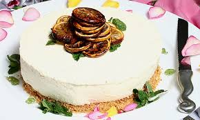 Lemon Cheesecake Decoration Recipes Chilled Lemon Cheesecake Stork Baking Recipes