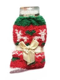 fuzzy christmas socks fuzzy christmas socks charmed creations llc