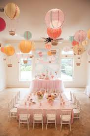 Balloon Centerpieces For Tables Glenwood Weber Design U0027s Floral Air Balloon Centerpiece Party