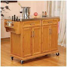 stainless steel topped kitchen islands bamboo stainless steel top kitchen cart at big lots we already