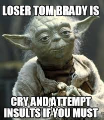 Brady Crying Meme - meme creator loser tom brady is cry and attempt insults if you must