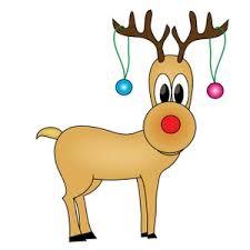 Christmas Animated Reindeer Decorations by Free Reindeer Clip Art Image Cartoon Reindeer Image 10983