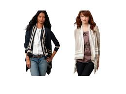 the draped cardigan dos and don u0027ts for different body shapes