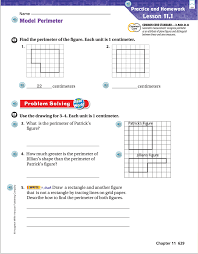 brown tanya go math chapter 11 homework u0026 practice pages
