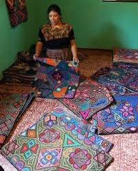 color explodes in hooked rugs clothroads