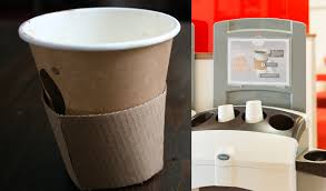 coffe cups new initiative helps recycle coffee cups springwise