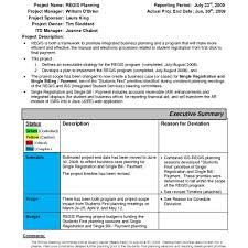monthly management report template excel and sample management
