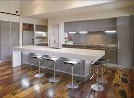 galley kitchen with island bench modern galley kitchen design