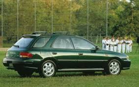 subaru station wagon green 1998 subaru impreza information and photos zombiedrive