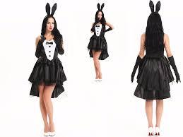 Halloween Costumes Playboy Bunny Buy Wholesale Pink Playboy Bunny Costume China Pink