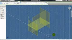 autodesk inventor tutorial 22 3d work features plane point