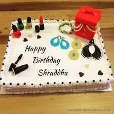 shraddha happy birthday cakes photos