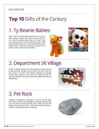Department Gifts 100 Greatest Gifts Of The Century Department 56