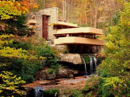 frank lloyd wright waterfall fallingwater 1937 by frank lloyd wright