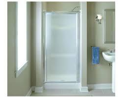 Sterling 5900 Shower Door Sterling Shower Door Vista X 1 2 Hinge Shower Door In Silver With