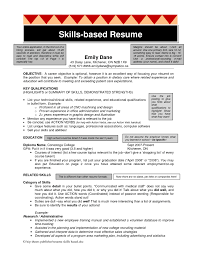 skill based resume exles resume skills based template top templates skill sle nursingmes