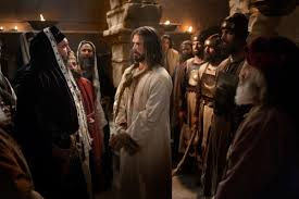 jesus christ before caiaphas