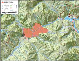 Washington Fire Map by 8 21 The Goodell Creek Fire Was Detected On North Cascades